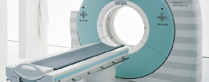 Latest generation CT scanner for rapid diagnosis and treatment of bowel problems